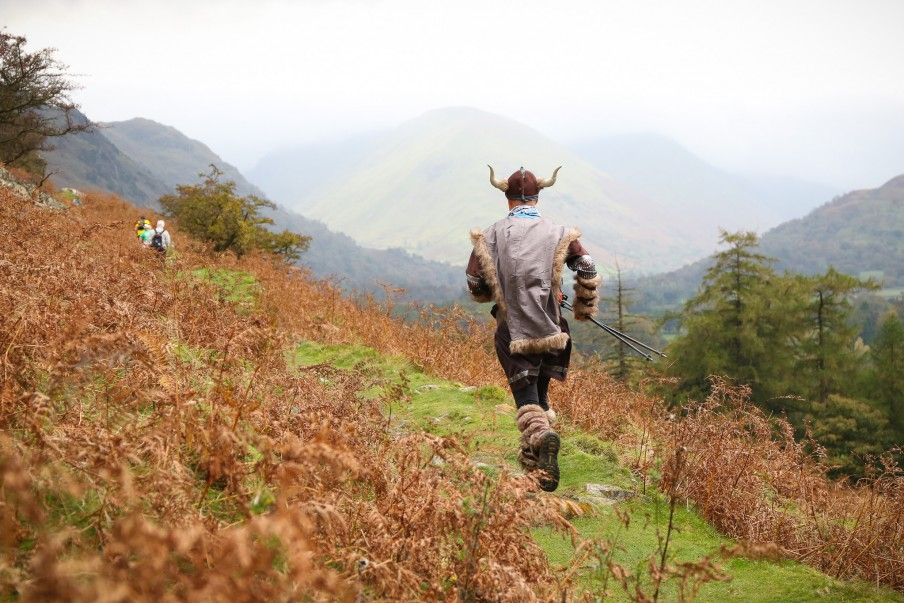 Viking on the Ullswater Trail