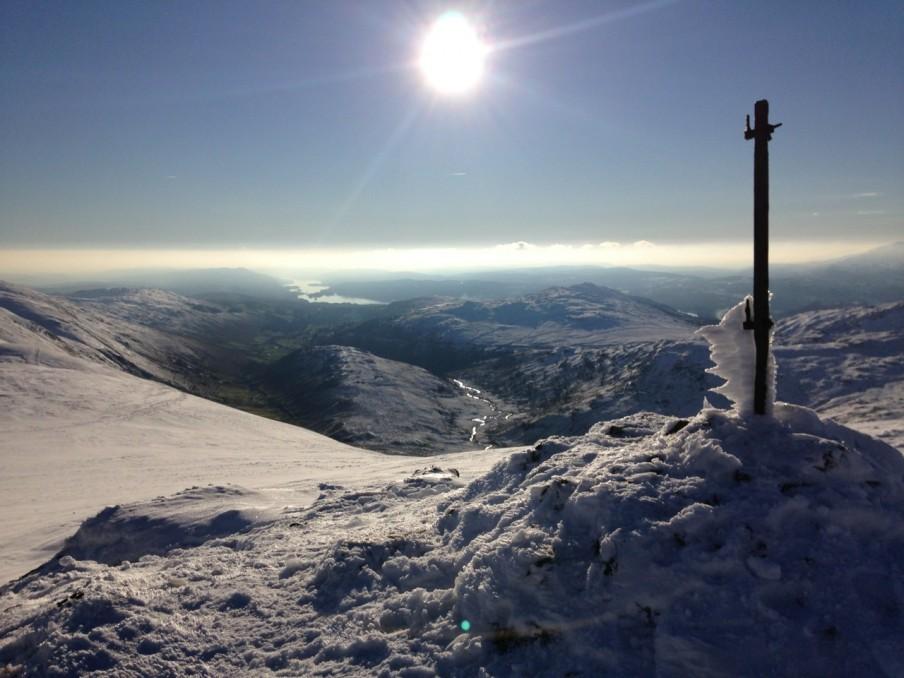 Climbing Thornthwaite Beacon