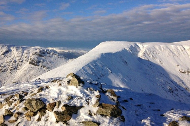 Looking back towards Thornthwaite Beacon