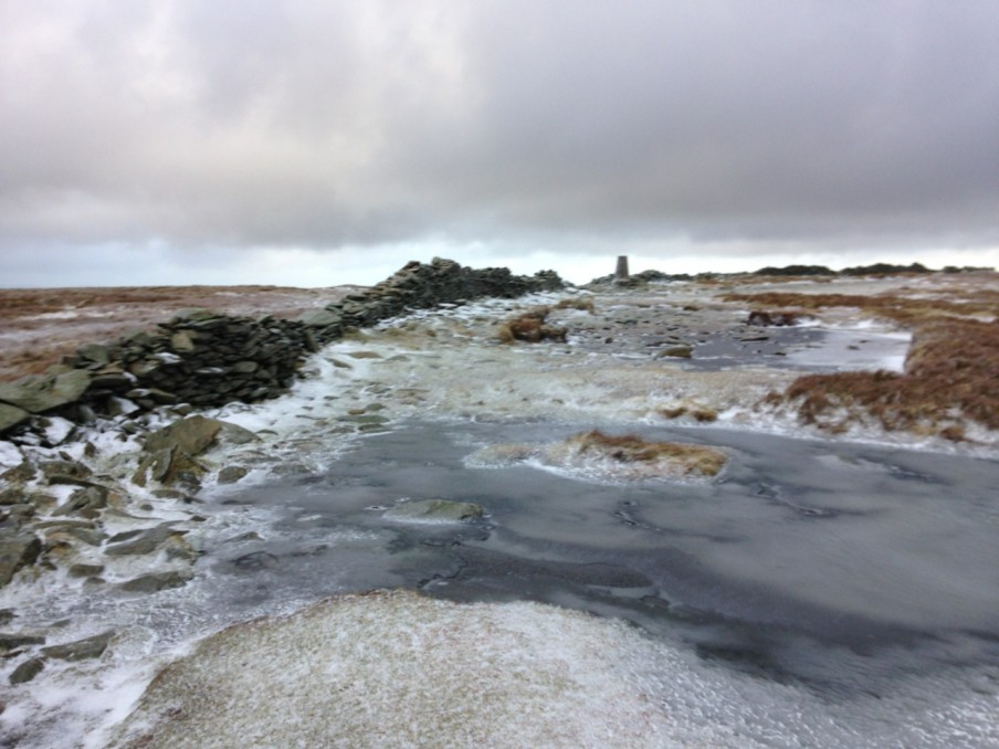 Frozen on the way to High Street