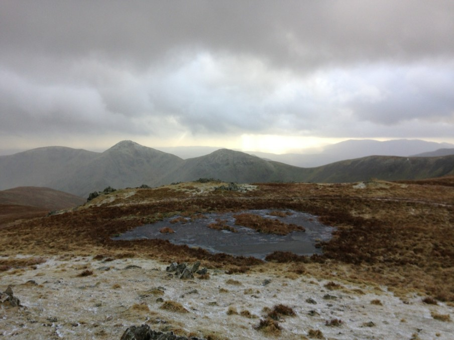 Looking back at Froswick and Ill Bell